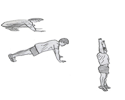 Body weight-Burpee
