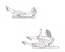 Abs-Sprinter Situp