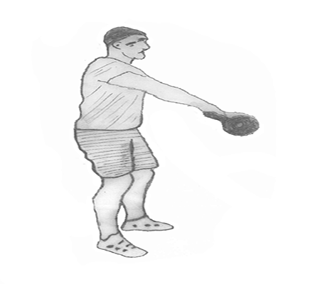 Step 2 for exercise Kettlebell Swings