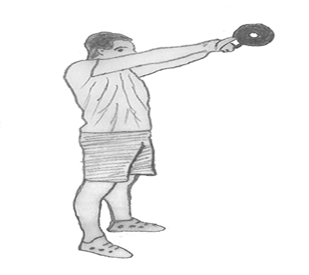 Step 3 for exercise Kettlebell Swings