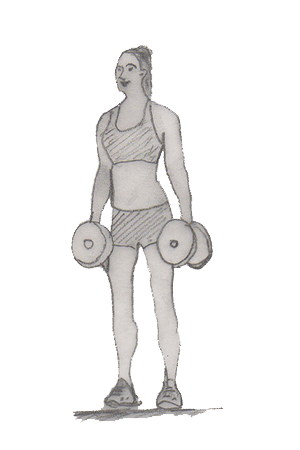Calf raise is a very simple exercise which works your muscles in the back of your calf that is Gastrocnemius, Soleus.