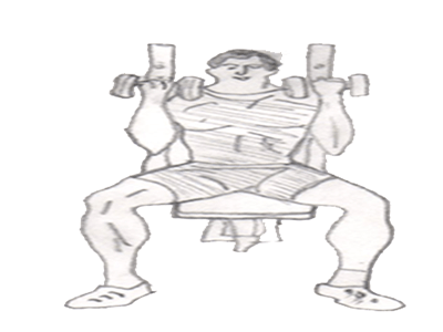 Step 3 for exercise Arnold press