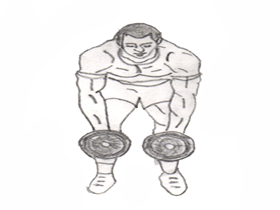 The bent over side lateral raise is the best exercise for strengthening the delts and lats and is performed by lifting dumbbells