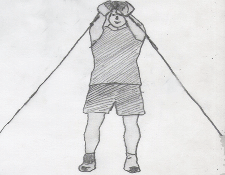 Step 2 for exercise Cable Crossover