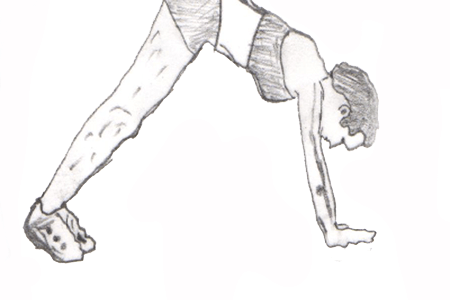 Judo Push-ups is a very good exercise which helps to increase your stamina and flexibility. Also helps to strengthen your core muscles of the chest.