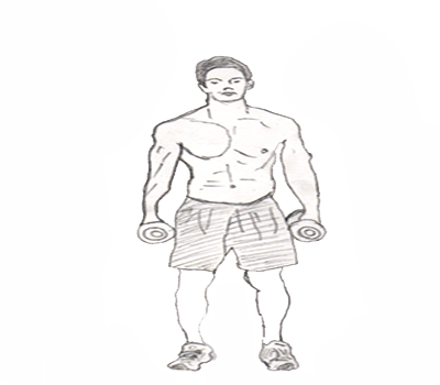 Lateral raise helps to isolates and widen your shoulders and gives