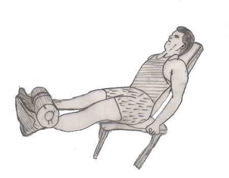 Step 2 for exercise Leg extension