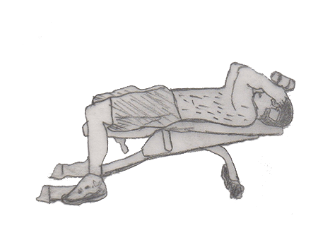 Lying triceps is an advanced exercise which helps to isolates your triceps muscles along with Forearm flexors muscles.