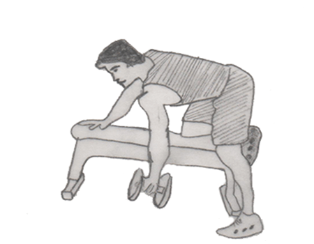 one arm dumbbel row is a an effective exercises for your back muscles. especially for your major and minor muscles. Main muscles targeted is Latissimus dorsi, rhomboids
