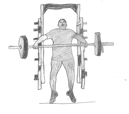 Step 2 for exercise Power snatch