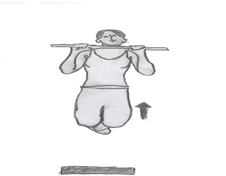 Step 2 for exercise Pull-up