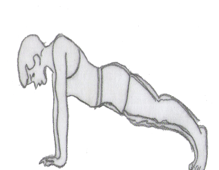 Step 2 for exercise Push-up