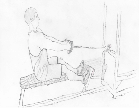Step 2 for exercise Seated Cable Rows