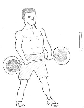 Sumo Dead-lift targets your glutes, quads and lowers back but this exercise will put more emphasis on your hamstrings and also going to be working on your hip strength as well.
