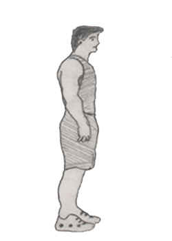Step 3 for exercise Walking lunges