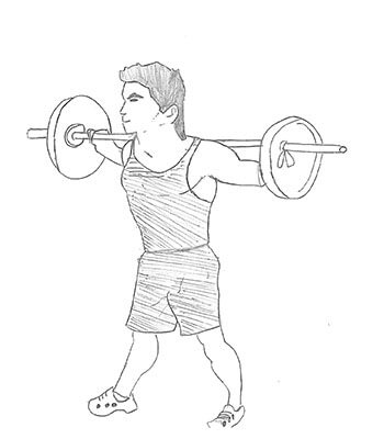 Wide stance barbell squat is also known as sumo squat,wide-legged barbell squat which strengthens your quadriceps and hamstrings muscles.
