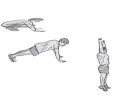 Body weight-Burpee