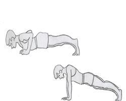 Body weight-Push-up